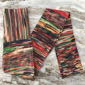Multicolored tights